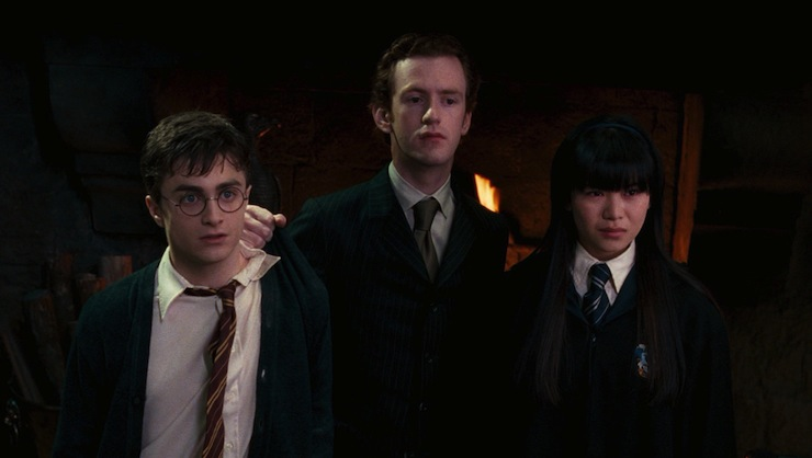 Harry Potter and the Order of Phoenix, Percy, Cho
