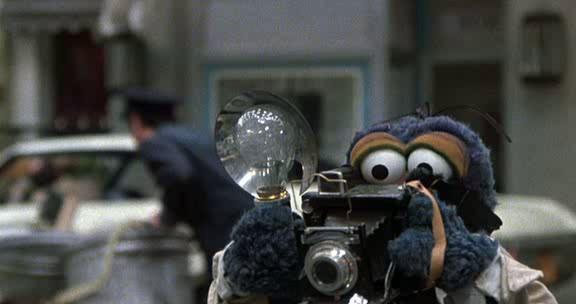 Great Muppet Caper Gonzo camera
