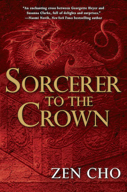 Sorcerer to the Crown Zen Cho US cover