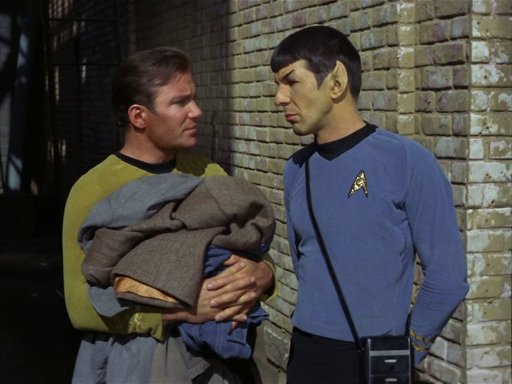 Star Trek, original series, season one, City On the Edge of Forever