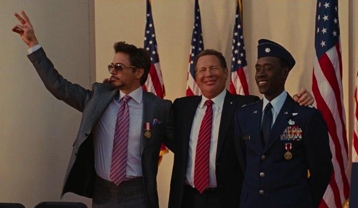 Tony Stark, peace sign, Iron Man 2