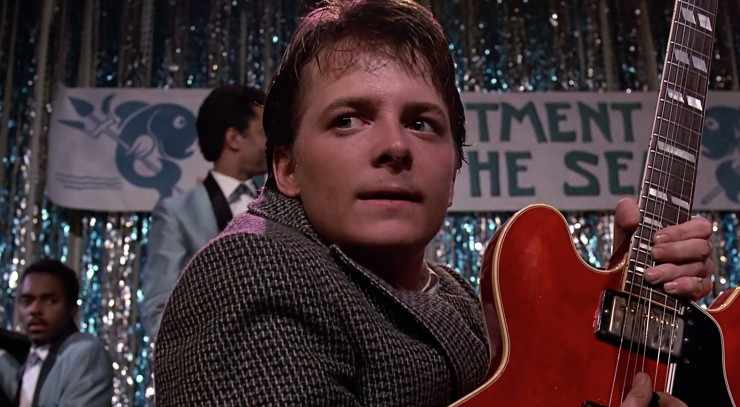 BTTF Marty Johnny B Goode 2