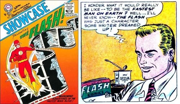 Barry Allen Debut