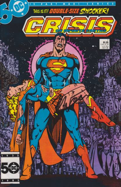 CRISIS Supergirl Death