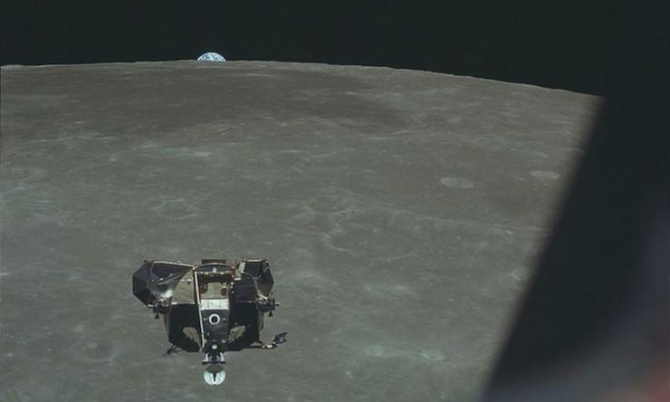 Human Footprints on the Moon