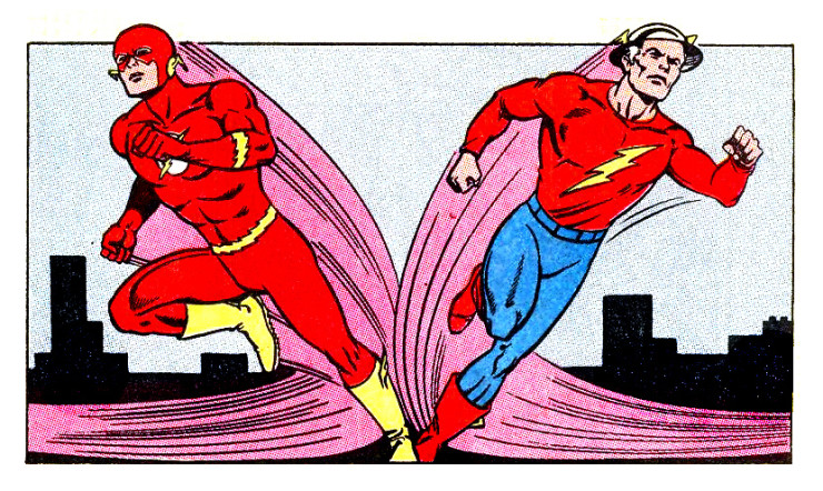 Jay Barry Flash Team-Up 1