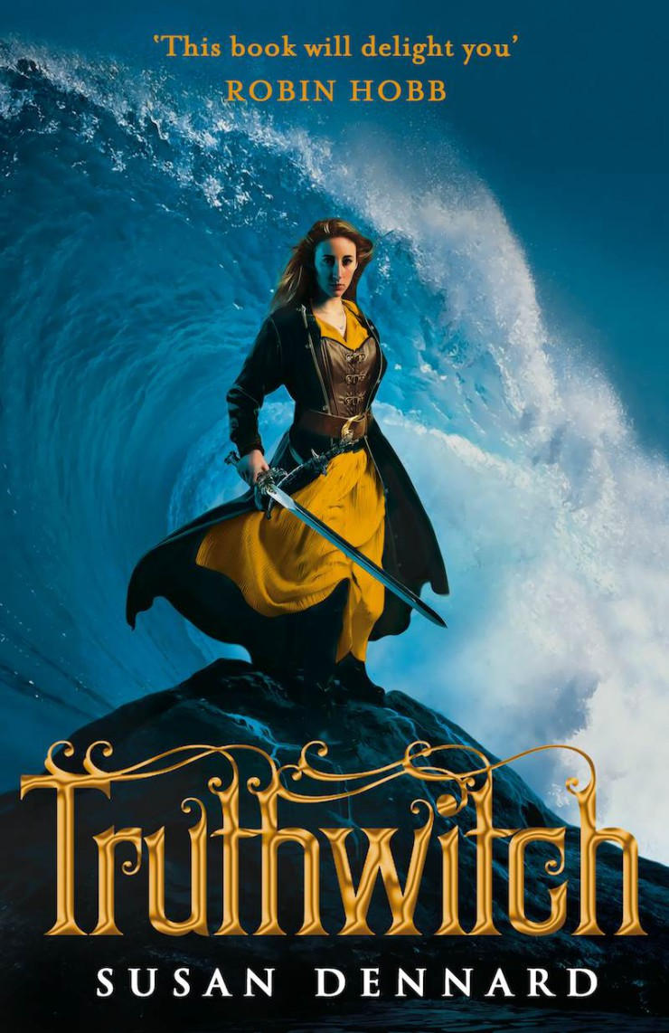 Truthwitch UK cover