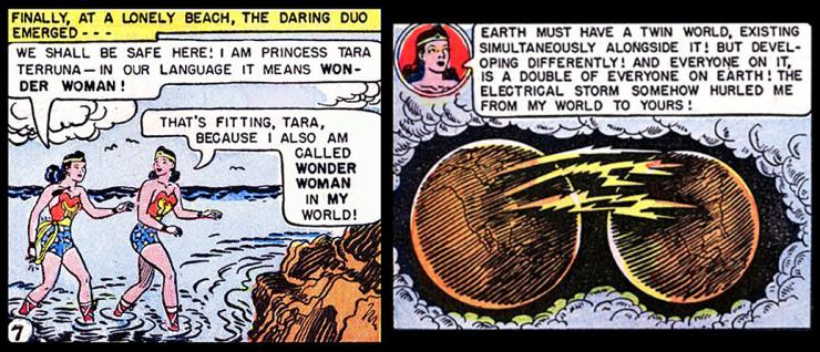 Wonder Woman Multiverse Parallel Earths