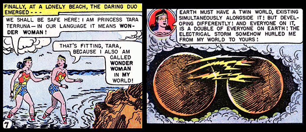 brand new 43438 024da Wonder Woman Multiverse Parallel Earths