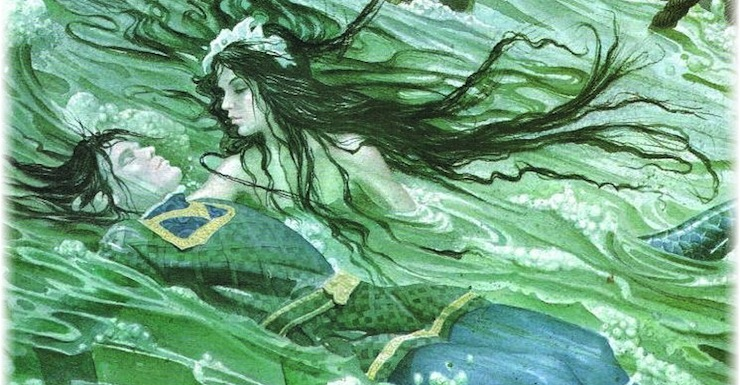 literary themes in the little mermaid