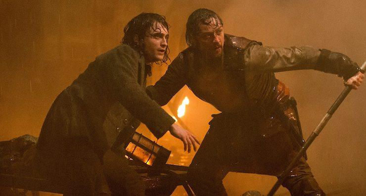 Victor Frankenstein, movie 2015