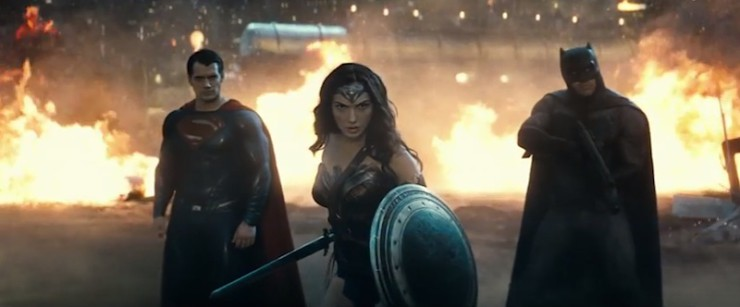 Batman v Superman: Dawn of Justice new trailer Wonder Woman Gal Gadot