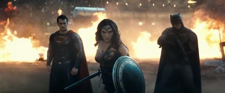 Batman v Superman: Dawn of Justice new trailer Wonder Woman Gal Gadot
