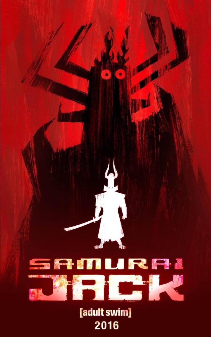 Samurai Jack returning to TV Cartoon Network 2016