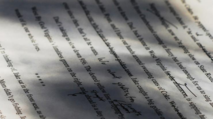 Manuscript editing Seth Sawyers