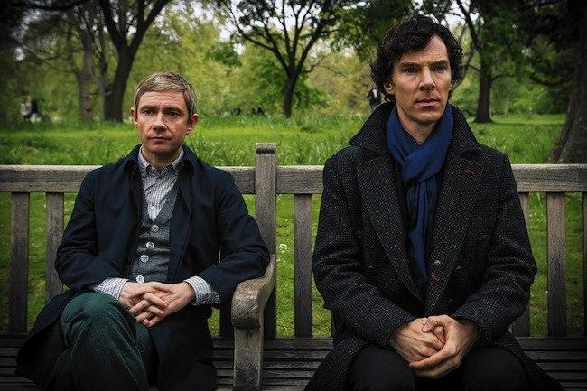 Sherlock-Watson-bench