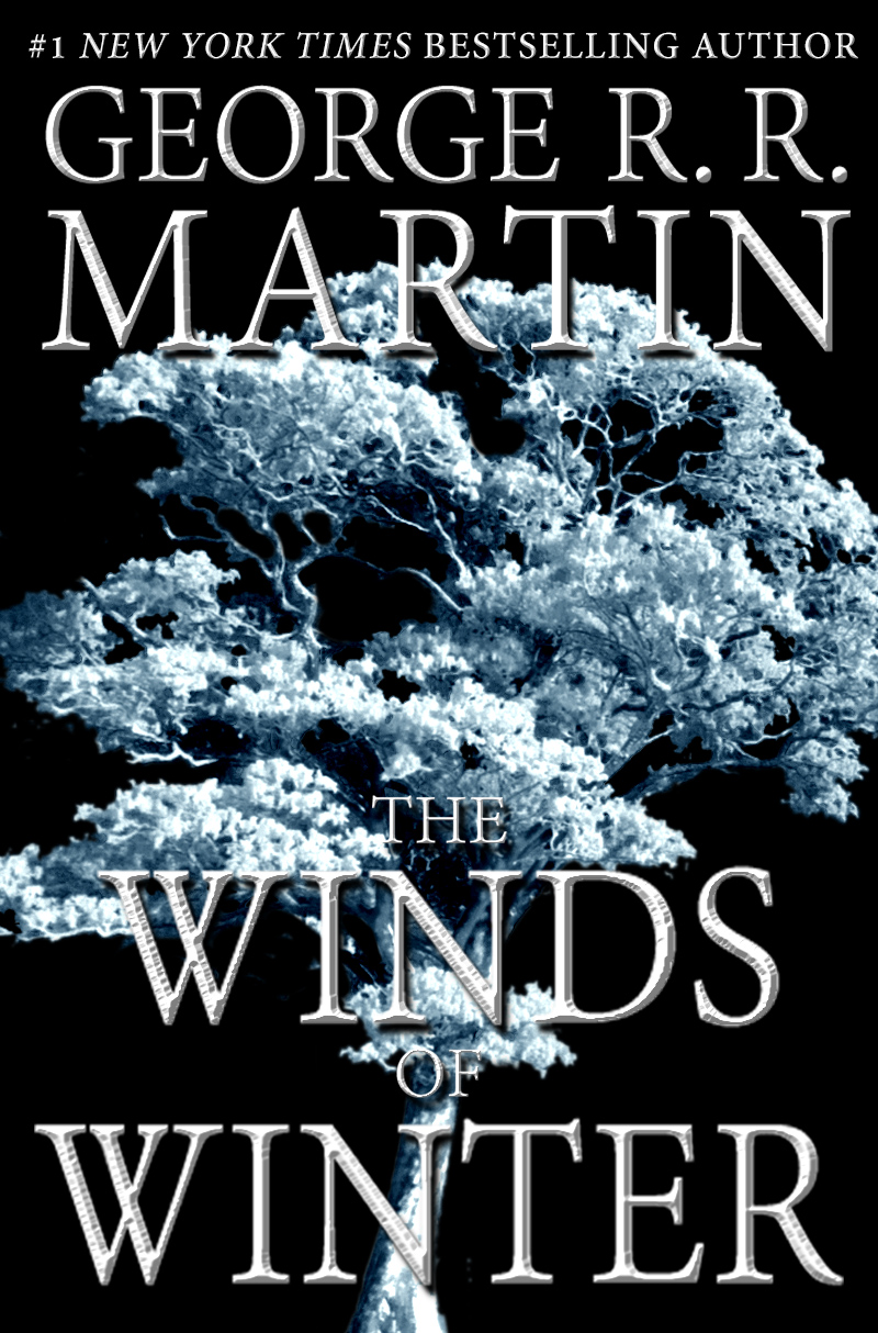 The Winds of Winter mock cover black