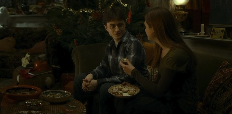 Who Was Ginny Hookup In The Half Blood Prince