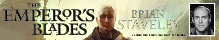 Brian Staveley Emperor's Blade faux ad