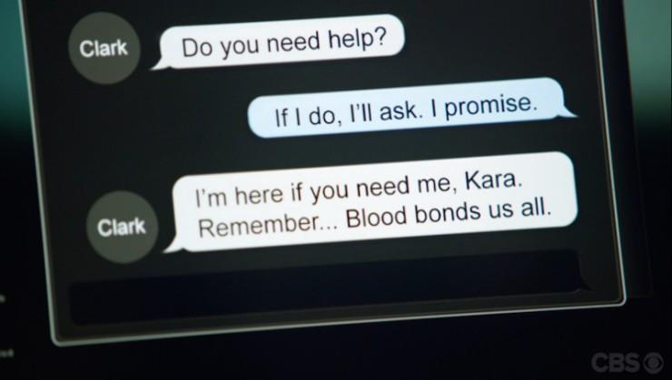 "Supergirl 1x09 ""Blood Bonds"" television review Clark Kent IM"