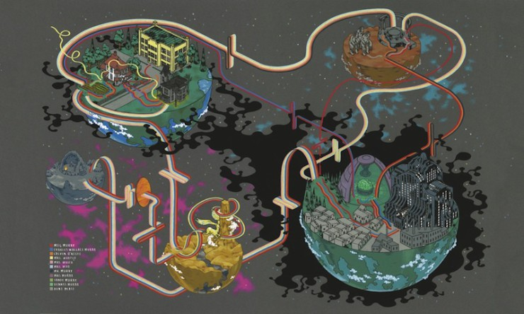Wrinkle in Time Map with Key