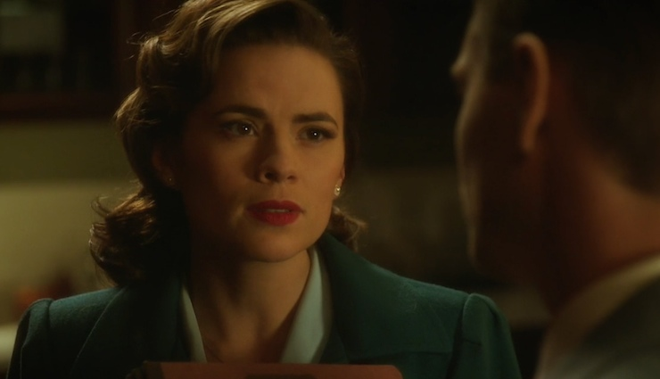 Peggy Carter pities Jack Thompson
