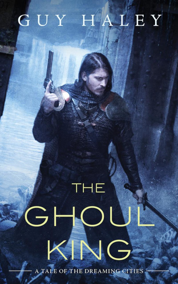 The Ghoul King cover art Tor.com Publishing