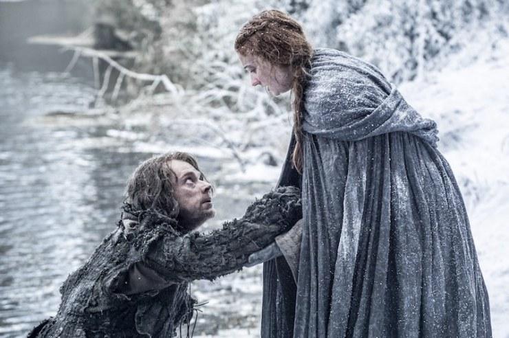 Game of Thrones season 6 photos Sansa Stark Theon Greyjoy