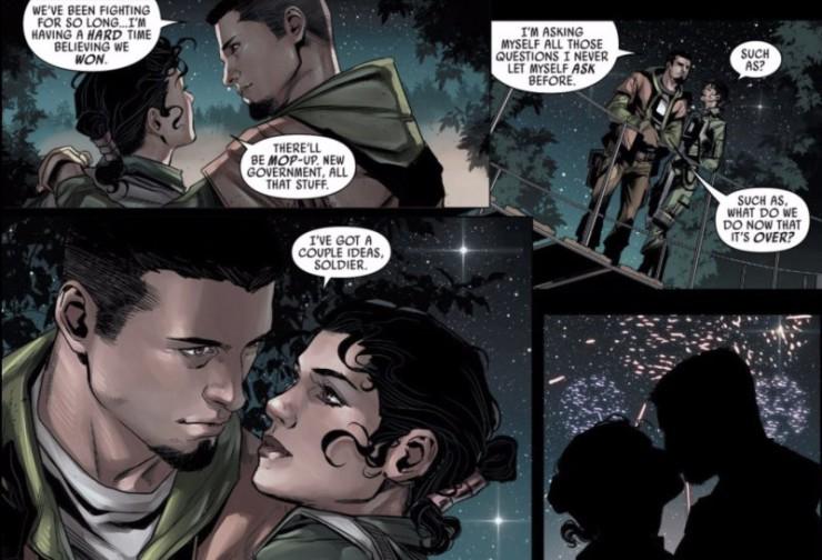 love Star Wars universe Kes Dameron Shara Bey Poe Dameron parents