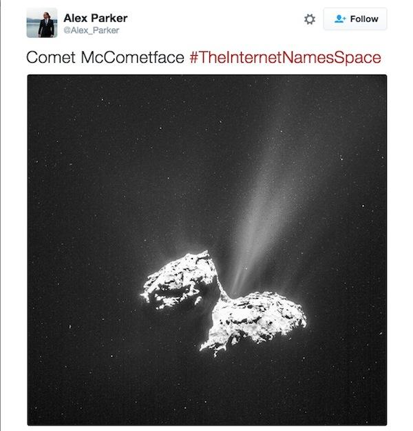 Comet McCometface
