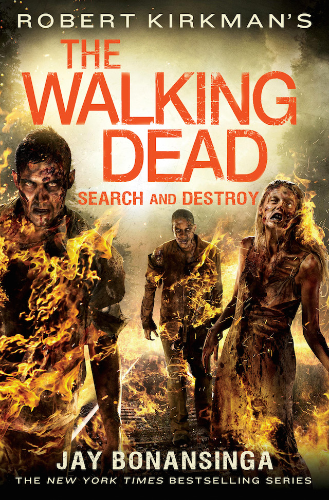 Walking Dead Search and Destroy cover