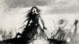 The Girl Who Stood on a Grave by Stephen Gammell