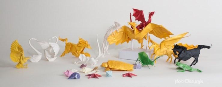 Ken Liu paper-folding origami mathematics