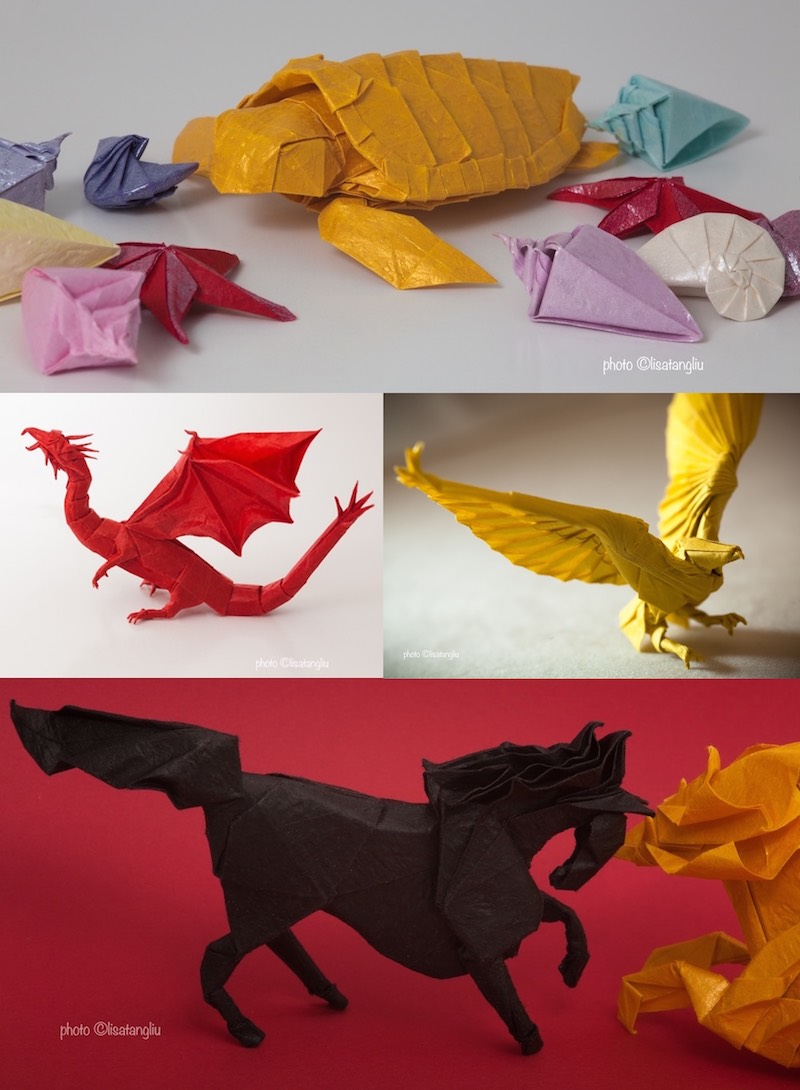6 easy activities with Valentine's Origami hearts for preschoolers | 1090x800