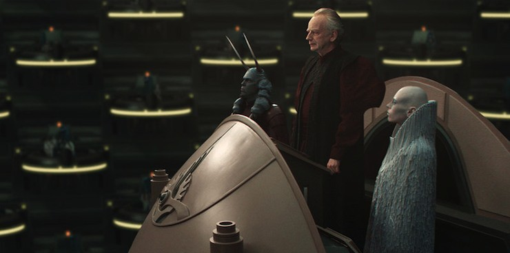 Chancellor Palpatine, Attack of the Clones, Star Wars Episode II