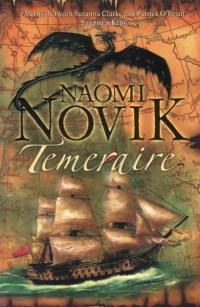UK cover of Temeraire