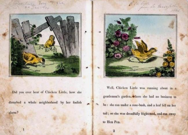 John Green Chandler's The Remarkable Story of Chicken Little