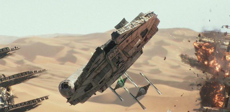Star Wars: The Force Awakens, Millennium Falcon