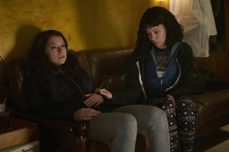 "Orphan Black 4x01 ""The Collapse of Nature"" television review Beth Childs M.K. Tatiana Maslany"
