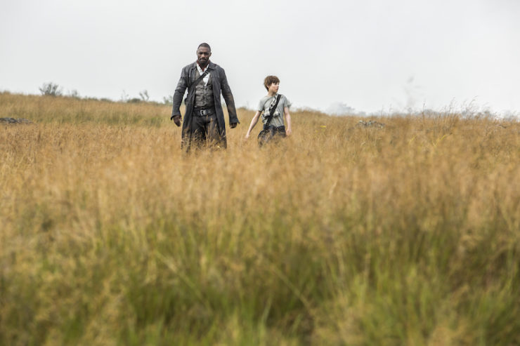 The Dark Tower movie film TV adaptation idris Elba Roland Deschain The Gunslinger Jake Tom Taylor