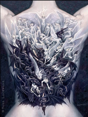 Todd Lockwood War of Angels art