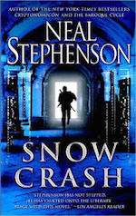 Metaverse Snow Crash Neal Stephenson virtual reality cyberpunk