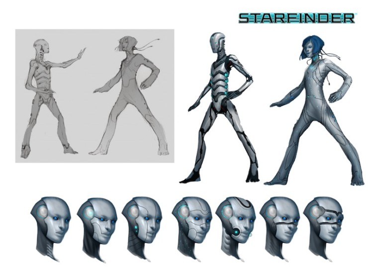 starfinder android concept