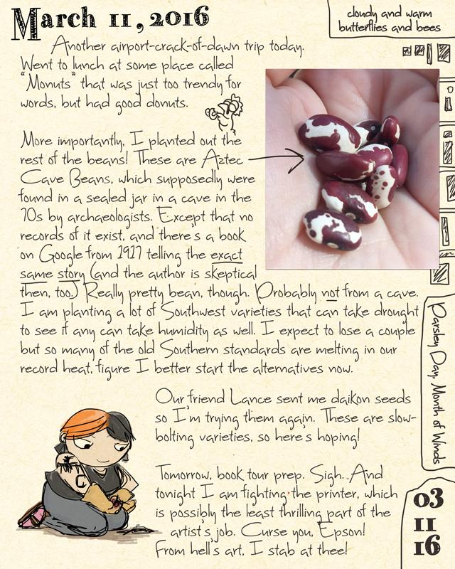 Ursula Vernon journal, Tumblr