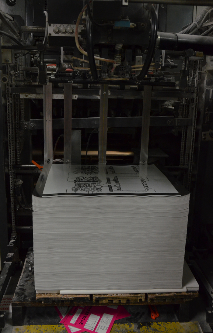 Infomocracy book printing process