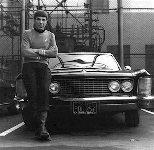 Mr. Spock on Buick