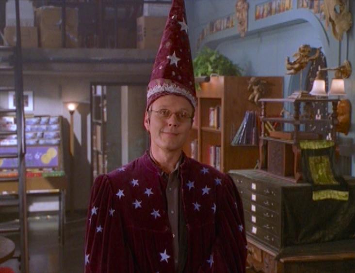 Giles wizard cap