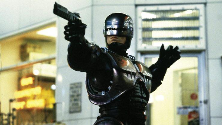 Robocop, armor