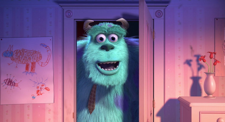 Sully Monsters Inc smile