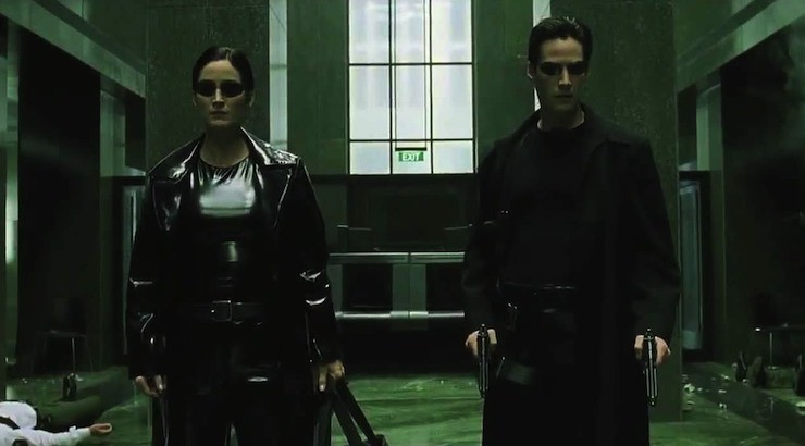 The Matrix, the Wachowskis, 1999